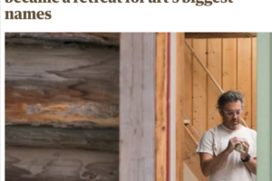 "Media Coverage: ""Après-art: how an Aspen ski resort became a retreat for art's biggest names"""