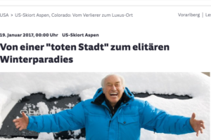 Sueddeutsche.de – German news coverage of Aspen and Klaus Obermeyer