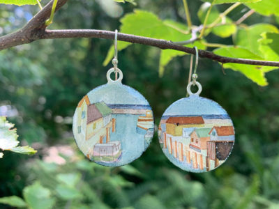 Tucker Sisters jewelry and watercolor collaboration
