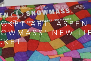 Pocket Art: Aspen Snowmass' New Lift Ticket