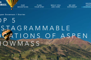 Top 5 Instagrammable Locations of Aspen Snowmass