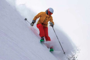 Skier Kim Reichhelm is Carving Out Her Niche